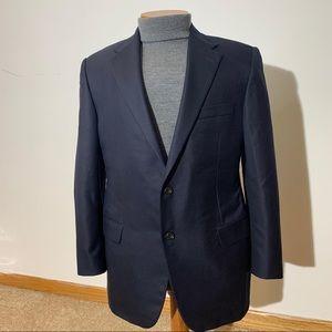 Hickey Freeman Addison Wool Cashmere Silk Blend
